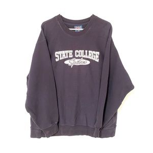 State college spikes crewneck